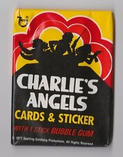 1977 Topps CHARLIE'S ANGELS Series1 Unopened Wax Pack