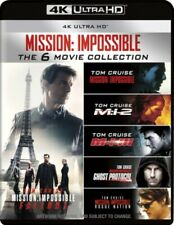 Mission Impossible The 6 Movie Collection Six 4k Ultra HD Region B Blu-ray