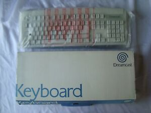 SEGA Dreamcast White Keyboard DC Boxed HKT-7620