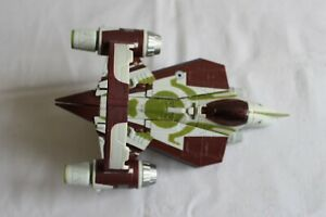 Star Wars/Transformers Jedi Starfighter and hyperspace ring