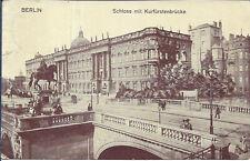 AK Berlin, Schloss, Kurfürstenbrücke,