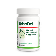 UrinoDol 60 tablets Natural Urinary Tract/Bladder Supplement for Dogs