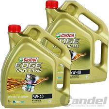 2x5L CASTROL EDGE TURBO DIESEL 5W-40 VW 50200 50500 50501 MB 226.5 229.31 229.51