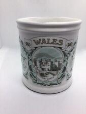Vintage Denby Mug Wales Welsh Scenes Including Dylan Thomas