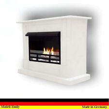 Gelkamin Ethanolkamin Kamin Fireplace Cheminee Camino  Emily Premium Royal Weiss