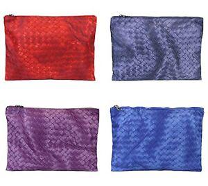 New Authentic BOTTEGA VENETA Intrecciolusion Nylon Cosmetic Bag Pouch 301493