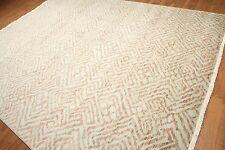 9' x 12' Hand knotted Oriental Area Rug New Zealand wool New 9x12 Aqua