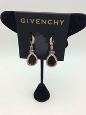 $45 Givenchy Pave & Colored Rose gold  stone drop earrings GJ7