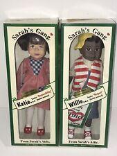 "Sarah'S Gang Doll Willie ""Respect�, Katie "" Responsibility� Sarah'S Attic 1996"