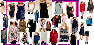 LOT 10 WHOLESALE LADIES WOMENS CLOTHES. S,M,L,1X 2X 3X.