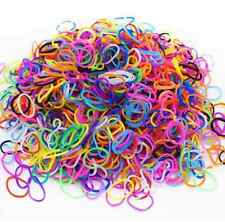 2400 BRIGHTLY COLOURED LOOM BANDS PLUS 94 CLIPS AND 4 TOOLS (4 packs of 600)
