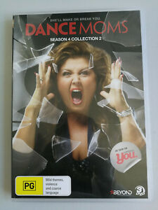 Dance Moms DVD Season 4 Collection 2 - 2 disc set Region 4 VGC