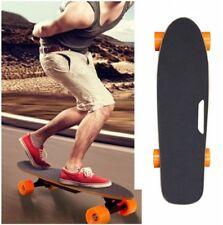 Solid Wheel Electric Skateboard Certified Battery +Wireless Remote Led