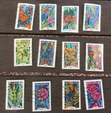 """lot complet de timbres oblitérés 2016 """"Fleurs À Foison"""""""