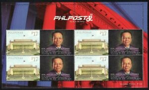 Philippines SK – 2019 Lucas Bersamin Personalized MS/4, Limited Quantity, MNH