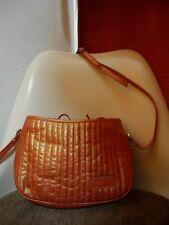 43c3afda4202d VALENTINO Schultertasche 90er metallic orange TRUE VINTAGE 90s shoulder bag