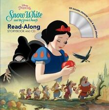 Read-Along Storybook and CD: Snow White and the Seven Dwarfs - BRAND NEW!