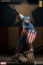 SIDESHOW CAPTAIN AMERICA Hydra PREMIUM FORMAT EXCLUSIVE STATUE NEW!! AVENGERS