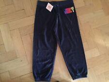 NWT Juicy Couture New & Gen. Girls Age 10 Blue Cotton Crop Leg Pants & Logo