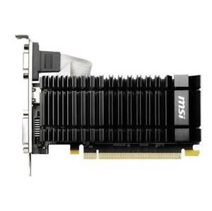 MSI NVIDIA GeForce GT 730 N730K-2GD3H/LPV1 2GB GDDR3 DL-DVI-D/HDMI/D-SUB Low