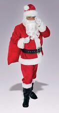 EXTRA LARGE REGAL Santa Suit RUBINI ORIGINALE Deluxe Costume Natale (peluche)