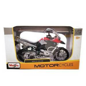 Maisto Motorcycle Series: BMW R 1200 GS 1/12 Scale