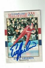 Eric Heiden USA Olympic Speed Skating Signed Card W/Our COA