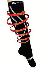 Compression Socks-5% silver-Circulation-SPORT-Diabetic-Varicose-Edema-Deodorant