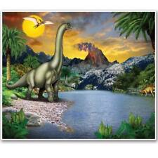 Dinosaur Giant Insta-Mural Dinosaur Birthday Party Wall Decoration