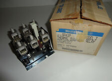 Westinghouse AA43P Thermal Overload Relay 3 Pole Size 4 Model J