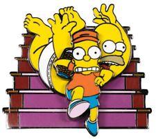 The Simpsons - Bart Raiding Homer's Change Jar Spinning Enamel Pin