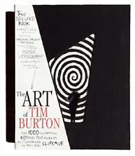 ART OF TIM BURTON ~ NEW & SEALED DELUXE LTD ED   1000 ~ HAND SIGNED LITHO & BOOK