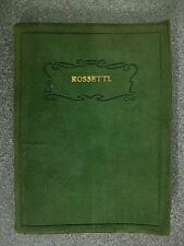DANTE GABRIEL ROSSETTI'S POEMS selected by CECIL CHARLES  Pub.J.HEWETSON & SON