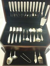 Rambler Rose by Towle Sterling Silver Flatware Set Service 68 Pieces
