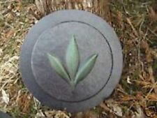 Heavy duty abs plastic mold small leaf stepping stone mold