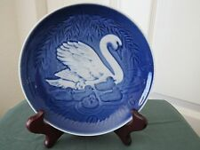 Bing & Grondahl Copenhagen Porcelain 1976 Mother'S Day Plate, Swan, With Box
