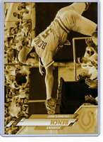Johnny Bench 2020 Topps Short Print Variations 5x7 Gold #186 /10 Indians