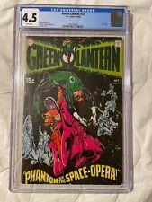 GREEN LANTERN 72 ( 10/69) graded CGC 4.5 PHANTOM OF THE SPACE OPERA DC COMICS