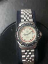 TAG HEUER Formula 1 371.513 Light yellow green Dial Quartz Boy's Watch C#102507