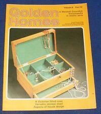 GOLDEN HOMES MAGAZINE #76 - HOME FABRICS - LAMPSHADE IN MACRAME