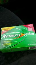 90 X Berocca Mixed Berries Flavour Effervescent Multi Vitamin Tablets Energy