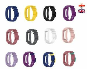 Durable Silicone Kids Replacement Watch Strap for FitBit Inspire HR/Ace 2