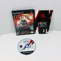 Rune Viking Warlord Sony PlayStation 2 PS2 Video Game Complete With Manual