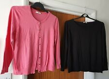 Womens size 18-20 bundle george cardigan pink Tu jumper black see description