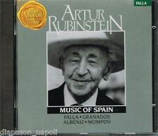 Music Of Spain: Falla, Granados, Albeniz, Mompou / Artur Rubinstein - CD