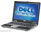 "Dell Latitude D430 12.1"" Intel Core 2 Duo 2 GB Ram 80 GB HDD Windows 7 Laptop"