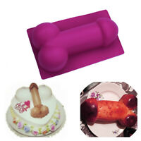 1Pcs 3D Large Willy Penis Silicone Mold Cake Jelly Baking Chocolate Mould Tool