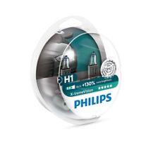 2x H1 PHILIPS X-tremeVision 12V 55W 12258XV+S2 Halogen Headlight Car Bulbs Twin