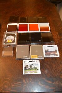 Lot of Cokin Special Effect Camera Lens Filters