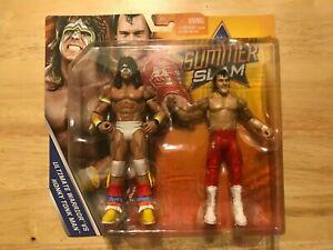 WWE Mattel Basic 2-pack Summer Slam Series 2017 Ultimate Warrior Honky Tonk Man